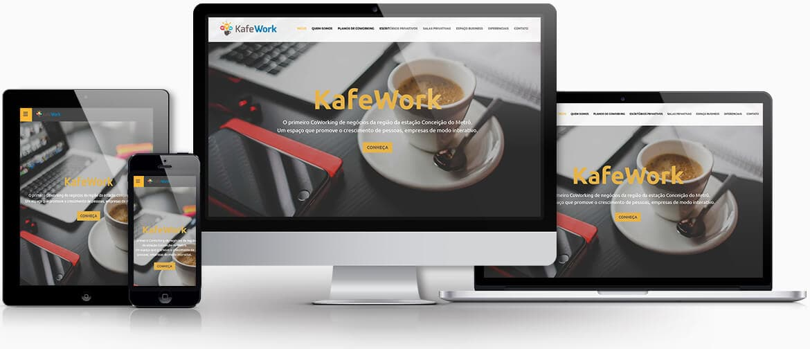 Raise - Criação de sites - Kafe Work